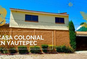 Foto de casa en venta en avenida tlayacapan , centro, yautepec, morelos, 0 No. 01