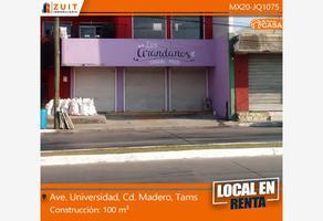 Foto de local en renta en avenida universidad 000, monteverde, ciudad madero, tamaulipas, 18288546 No. 01