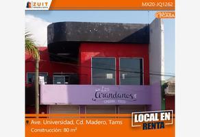 Foto de local en renta en avenida universidad 000, monteverde, ciudad madero, tamaulipas, 18288550 No. 01