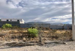 Foto de terreno industrial en venta en azalea lote 23, el refugio, arteaga, coahuila de zaragoza, 0 No. 01