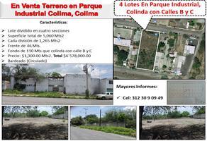 Foto de terreno comercial en venta en b y calle , colima centro, colima, colima, 0 No. 01