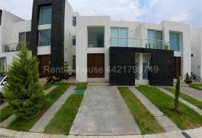 Foto de casa en condominio en renta en Zakia, El Marqués, Querétaro, 22150688,  no 01