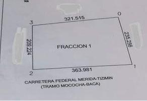 Foto de terreno habitacional en venta en  , baca, baca, yucatán, 14268220 No. 01