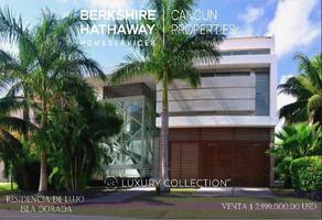 Foto de casa en venta en  , bahía dorada, benito juárez, quintana roo, 17411049 No. 01