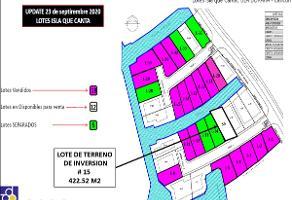 Foto de terreno habitacional en venta en  , bahía dorada, benito juárez, quintana roo, 17602897 No. 01