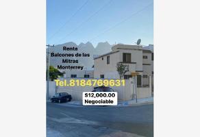 Foto de casa en renta en balcones de picahos 5702, balcones de las mitras, monterrey, nuevo león, 0 No. 01