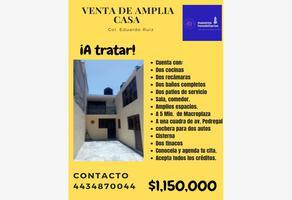 Foto de casa en venta en bardana 123, eduardo ruiz, morelia, michoacán de ocampo, 0 No. 01