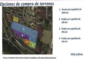Foto de terreno habitacional en venta en  , barrio san pedro, xochimilco, df / cdmx, 18431249 No. 01
