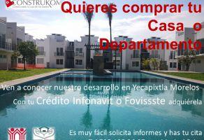 Foto de departamento en venta en Huexca, Yecapixtla, Morelos, 13013258,  no 01