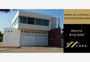 Foto de casa en renta en bellavista 1101, maria de la piedad, coatzacoalcos, veracruz de ignacio de la llave, 0 No. 01