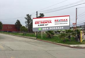 Foto de terreno comercial en renta en benito juarez , la hacienda, tecate, baja california, 6601718 No. 01