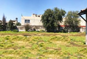 Foto de terreno habitacional en venta en benito juarez , san pedro totoltepec, toluca, méxico, 17785528 No. 01