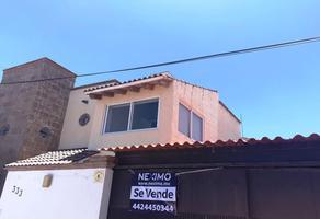Foto de casa en venta en benito reynoso 333, misión de carrillo ii, querétaro, querétaro, 15055891 No. 01