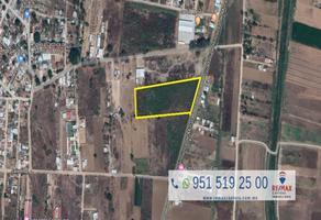 Foto de terreno comercial en venta en blvrd- guadalupe hinojosa , san isidro monjas, santa cruz xoxocotlán, oaxaca, 6223834 No. 01