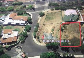 Foto de terreno habitacional en venta en bosque de helechos , bosques de las lomas, cuajimalpa de morelos, df / cdmx, 0 No. 01