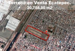 Foto de terreno habitacional en venta en  , bosques de ecatepec, ecatepec de morelos, méxico, 13930054 No. 01