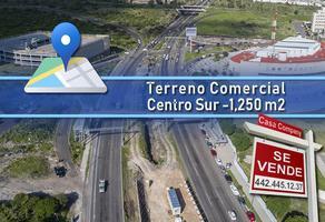 Foto de terreno comercial en venta en boulevard bernardo quintana , centro sur, querétaro, querétaro, 14366518 No. 01