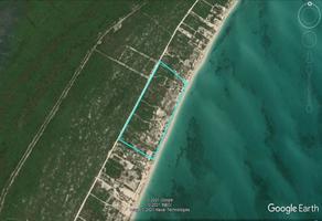 Foto de terreno habitacional en venta en boulevard costa , el cañotal, isla mujeres, quintana roo, 0 No. 01
