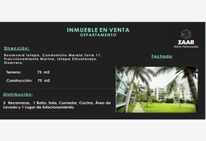 Foto de departamento en venta en boulevard ixtapa 11, marina brisas, acapulco de juárez, guerrero, 11514536 No. 01