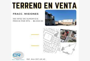 Foto de terreno habitacional en venta en boulevard las misiones a, las misiones, saltillo, coahuila de zaragoza, 0 No. 01