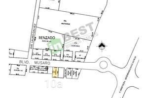 Foto de terreno habitacional en venta en boulevard musaro , costa del sol, hermosillo, sonora, 19105698 No. 01