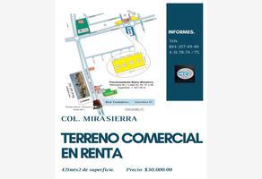 Foto de terreno comercial en renta en boulevard revolución. a, nuevo mirasierra 2da etapa, saltillo, coahuila de zaragoza, 12460549 No. 01