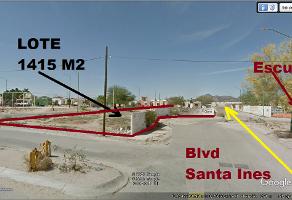 Foto de terreno habitacional en venta en boulevard santa ines , centro norte, hermosillo, sonora, 12397772 No. 01