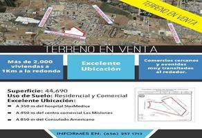 Foto de terreno comercial en venta en boulevard teofilo borunda , jardines residencial ii, juárez, chihuahua, 17939423 No. 01