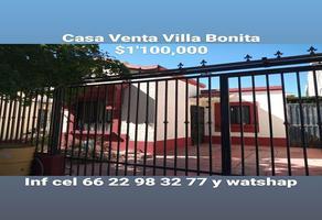 Foto de casa en venta en boulevard villa bonita 25, villa bonita, hermosillo, sonora, 0 No. 01