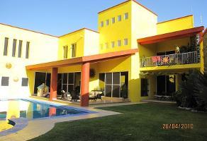 Foto de casa en renta en  , bugambilias, temixco, morelos, 11862314 No. 01