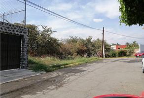 Foto de terreno habitacional en venta en  , burgos, temixco, morelos, 18832382 No. 01