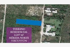 Foto de terreno habitacional en venta en cabo norte 99, cocoyoles, mérida, yucatán, 0 No. 01