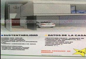 Foto de casa en venta en  , cadereyta jimenez centro, cadereyta jiménez, nuevo león, 13978958 No. 01