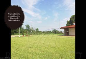 Foto de rancho en venta en  , cadereyta jimenez centro, cadereyta jiménez, nuevo león, 15327151 No. 01