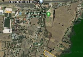 Foto de terreno habitacional en venta en  , cajititlán, tlajomulco de zúñiga, jalisco, 12665569 No. 01