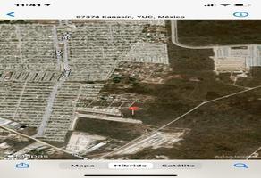 Foto de terreno habitacional en venta en calle 23-g , san pedro noh pat, kanasín, yucatán, 0 No. 01