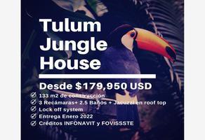 Foto de casa en venta en calle 6 , region 15 kukulcan, tulum, quintana roo, 0 No. 01