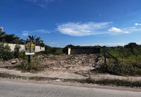 Foto de terreno habitacional en venta en calle avenida paseo del mar , boquerón del palmar, carmen, campeche, 13781646 No. 01