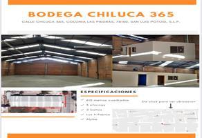 Foto de bodega en renta en calle chiluca 365, las piedras, san luis potosí, san luis potosí, 16908508 No. 01