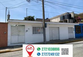 Foto de casa en venta en calle de la laguna 97, el espinal, orizaba, veracruz de ignacio de la llave, 0 No. 01