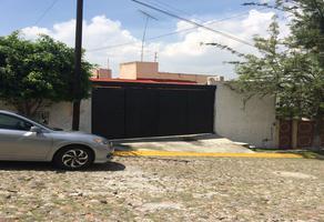 Foto de casa en venta en calle hule 10b, arboledas, querétaro, querétaro, 20159207 No. 01