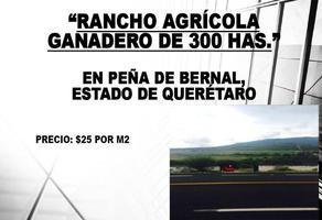 Foto de rancho en venta en calle independencia , bernal, ezequiel montes, querétaro, 0 No. 01