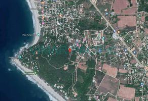 Foto de terreno habitacional en venta en calle vista del sol , barra de navidad, santa maría colotepec, oaxaca, 7599393 No. 01