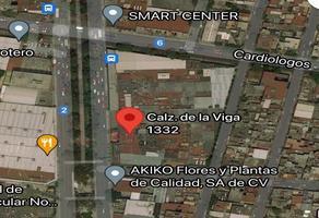 Foto de terreno habitacional en venta en calzada de la viga , el triunfo, iztapalapa, df / cdmx, 0 No. 01