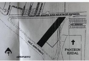 Foto de terreno habitacional en venta en calzada juan pablo ii 1, aviación, torreón, coahuila de zaragoza, 0 No. 01