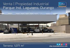 Foto de nave industrial en venta en calzada lázaro cárdenas , parque industrial lagunero, gómez palacio, durango, 0 No. 01
