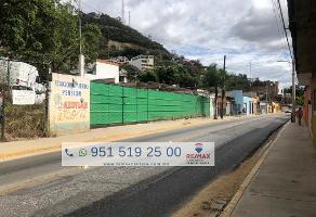 Foto de terreno habitacional en venta en calzada niños herores , centro comercial plaza del valle, oaxaca de juárez, oaxaca, 12427057 No. 01