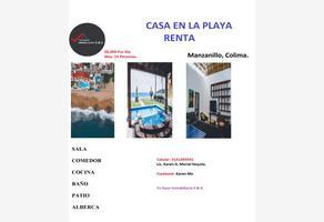 Foto de casa en renta en calzada paraiso 9, nuevo salagua, manzanillo, colima, 0 No. 01
