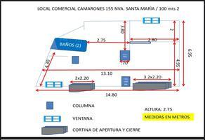 Foto de local en renta en camarones , nueva santa maria, azcapotzalco, df / cdmx, 20669733 No. 01