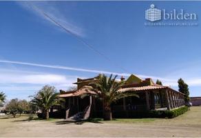 Foto de rancho en venta en camino a la loma 100, paraíso, durango, durango, 9294294 No. 01